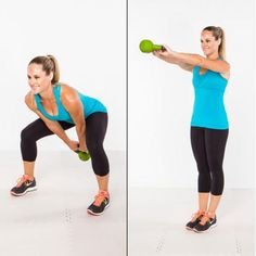 Burn Fat in 15 Minutes - Kettlebell Workout Plan to Burn Fat and Build Endurance - Shape Magazine