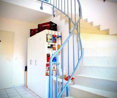 Kieler FeWo No. 2 - kieler-fewo.de Modern, Stairs, Home Decor, Ground Floor, Double Bedroom, Kiel, Seating Areas, Trendy Tree, Stairway
