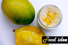 mango banaan smoothie Superfoods, Cantaloupe, Fruit, Breakfast, Tips, Morning Coffee, Super Foods, Counseling