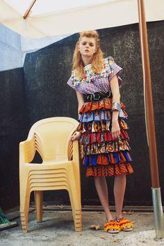 Stella Jean SS 16 | Womenswear Lookbook  Photo by Viola Rolando #StellaJean…