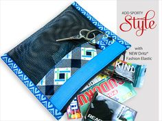 Mesh Sport Pouches with New Dritz Fashion Elastic