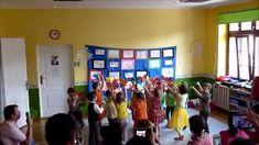 Taniec motyli - Chochliki z Przedszkola Bajlandia w Cieszynie