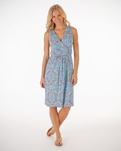 Manhattan Dress in Cali, $69, made in USA from Fresh Produce