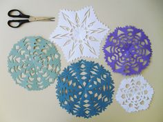 Flocos de neve (de papel!)