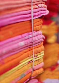 Fabric from Rajasthan, India