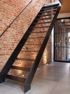 Home Stairs Design, Balcony Design, Loft Design, House Design, Casa Loft, Loft House, House Stairs, Stairs Architecture, Architecture Design
