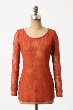 Anthropologie Lacy Longsleeved Tee    gorgeous for layering