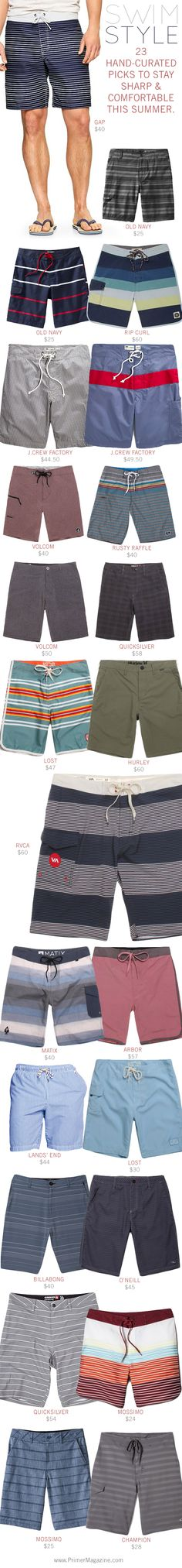Swim Style: 23 Hand-curated Picks to Stay Sharp & Comfortable This Summer. - Primer