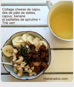 Une idée de petit-déjeuner ou goûter sans blé sans lait sans sucre ajouté