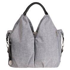 Buy Laessig Neckline Changing Bag, Black Melange Online at johnlewis.com