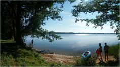 ... am Strengelner See (Jez. Stregiel) in  Mazury, Poland