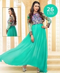 Sky Blue georgette Anarkali  Just ONE CLICK AWAY !  Click on the link in bio and shop.  Worldwide Delivery|7 day return Policy  Product id- 439314 Visit m.mirraw.com/insta  Follow us on @mirraw  DM or Whatsapp on 91 8655500479  #anarkali #blueanarkali #salwar #salwarsuit #style #georgette #dupatta #greensalwar #salwarlove #newdesigns #anarkalionline #designerwear #ethnic #celeb #outfits #lovesalwars #karishmakapoor #celebrity #instagood #trendy #fashion #desilook #onlineshopping…