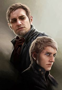 Tytos & Tywin Lannister. The World of Ice and Fire