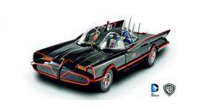 Batman Classic TV Series Batmobile 1966 Black with figures Hot Wheels DJJ39