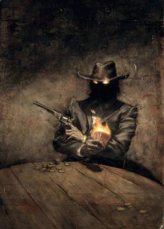 Thom Ang, Dead  |  i love western/supernatural mixes