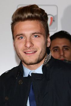 Then there's Ciro Immobile who is perpetually happy. | 49 Ways The Fine Men Of Team Italy Put All Other World Cup Teams To Shame
