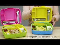 Τα παιδιά προσχολικής ηλικίας μπορούν να γίνουν πολύ απαιτητικά για οτιδήποτε - ειδικά για το φαγητό. Το Lunch Bento Box με κουταλοπήρουνα θα σε σώσει από πολλούς μπελάδες σχετικά με το φαγητό. Σχεδιασμένο για μικρές μερίδες και μικρά χεράκια, το παιδικό δοχείο που δε στάζει είναι ιδανικό για υγιεινά γεύματα στο σχολεί Stainless Steel Utensils, Bento Box, School Lunch, All In One, Kids, School Lunch Food, Young Children, Boys, Children