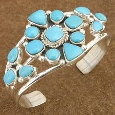 Added more beautiful Turquoise and Sterling Silver Bracelets to my store. http://www.bonanza.com/chestoftreasures