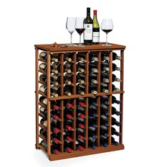 N'finity 60 Bottle Floor Wine Rack