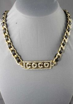 Its COCO Baby!! https://www.etsy.com/listing/190815992/coco-braided-leather-fashion-chain