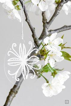 Nápad Kreidemarker - urobte Veľkonočný prívesok sami - Veľkonočné kytice Veľkonočné vajíčko