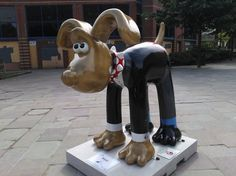 Gromit Unleashed - Groscar by Chris Taylor