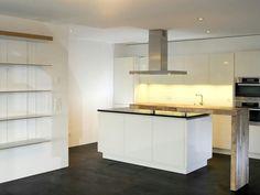 Moderne Küche mit Bar: 6 Ideen für eine Bartheke aus Holz, Stein ...
