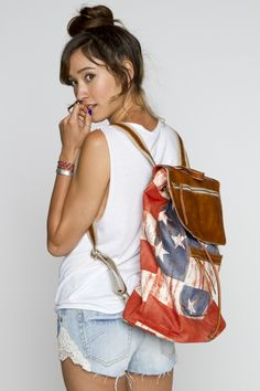 Cute backpack for the Fourth of July