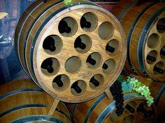 Recycled Wine Barrel - Wine Rack