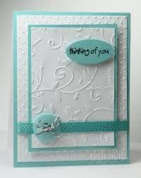 making embossed cards Making Greeting Cards, Greeting Cards Handmade, Cricut Cards, Stampin Up Cards, Embossed Cards, Embossed Paper, Get Well Cards, Pretty Cards, Sympathy Cards