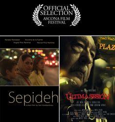 SEPIDEH de Fani Konstantinou y ÚLTIMA SESIÓN de Natxo Fuentes, seleccionados en el Ascona Film Festival, que se celebra en Suiza del 26 al 28 de febrero.