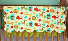 cute baby quilt- love this new take.