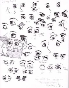 Disney Eyes by painting-monkey on deviantART