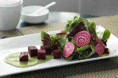 Beet & Pistachio Salad at the Nantucket Hotel