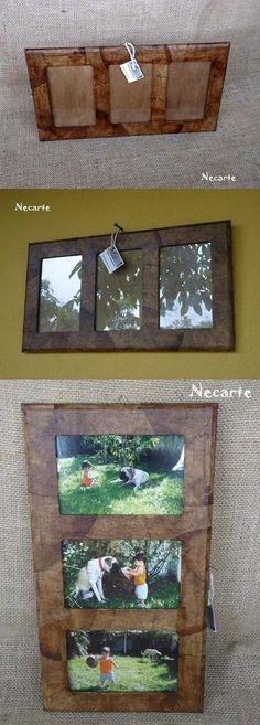 porta retrato ecológico