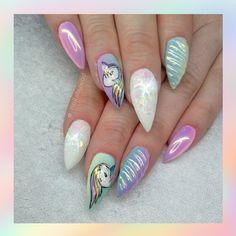 Unicorn Nailart Nailsbywad