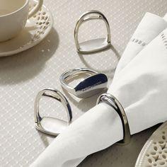 Thanks Mom! Derbyshire Napkin Ring Set - Serving Pieces Tabletop - RalphLauren.com