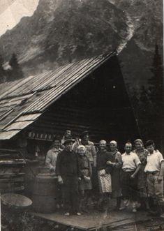 Koliba v Kôprovej doline - fotoarchiv:Ján Zaťko - nedatované