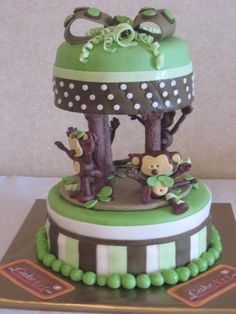 Monkey Cake on Cake Central