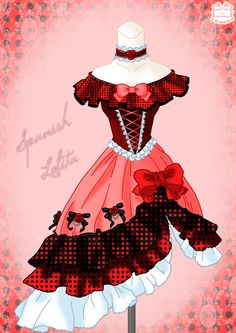 Spanish Lolita by Neko-Vi.deviantart.com on @deviantART