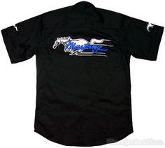 mustang embroidery | FORD MUSTANG Racing Shirt, Siamjacket.Com - High quality racing jacket ...