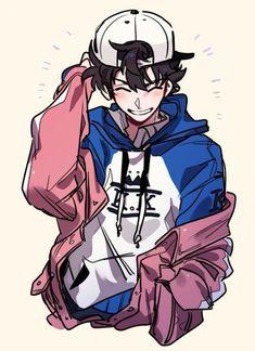 cartoon art Se parce a Keith (-) Really Cool Drawings, Cute Drawings, Oc Drawings, Cute Art Styles, Cartoon Art Styles, Anime Boy Zeichnung, Art Du Croquis, Cartoon Kunst, Art Mignon