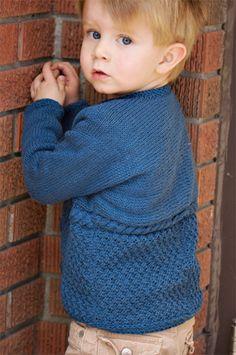 Ravelry: Ewan pattern by Sarah Grieve Baby Booties Knitting Pattern, Baby Sweater Patterns, Baby Boy Knitting, Knitted Baby Cardigan, Crochet Cardigan Pattern, Knitting For Kids, Baby Knitting Patterns, Free Knitting, Blue Cardigan