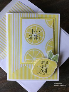 Shop for Stampin' Up! Learn how to create simple & pretty cards. Daily card ideas, paper crafting tips, stamping videos & tutorials. Making Greeting Cards, Greeting Cards Handmade, Making Cards, Card Making Inspiration, Making Ideas, Card Sentiments, Stamping Up Cards, Card Patterns, Pretty Cards