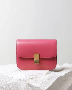 CÉLINE   Classic Box rose <3 - Collection Maroquinerie et Sacs Automne 2014