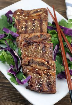 An awesome #keto grilled Asian Short Ribs. Plus enter to win a free subscription for #keto delivered. Shared via http://www.ruled.me/