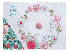 Have you been looking for sweet and unique stitchery designs that can be displayed in a variety of projects?   The Stitcher...