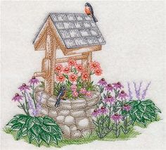 Machine Embroidery Designs at Embroidery Library! - Wishing Wells