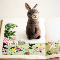 Wool Felt Animals - Japanese Needle Felting Book Explore | feltcafe on Flickr