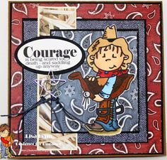 A Theme Challenge -Cowboys and Cowgirls Bugaboo, Cowboy And Cowgirl, Cowboys, Challenges, Cards, Blog, Fictional Characters, Maps, Playing Cards